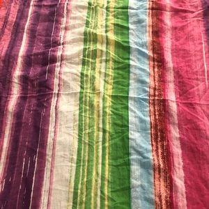 Zara Scarf Beautiful Colorful Stylish Size Medium